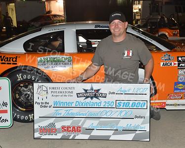 "20170802-1267 - ARCA Midwest Tour ""Forest County Potawatomi Dixieland 250"" at Wisconsin International Raceway - Kaukauna, WI-8/2/2017"