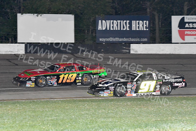 """20170902 614 - ARCA Midwest Tour """"Bill Meiller Memorial 101 presented by Assembly Products"""" at Dells Raceway Park - Wisconsin Dells, WI - 9/2/17"""