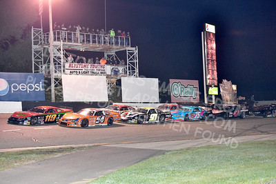 """20170902 613 - ARCA Midwest Tour """"Bill Meiller Memorial 101 presented by Assembly Products"""" at Dells Raceway Park - Wisconsin Dells, WI - 9/2/17"""
