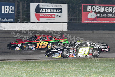 """20170902 611 - ARCA Midwest Tour """"Bill Meiller Memorial 101 presented by Assembly Products"""" at Dells Raceway Park - Wisconsin Dells, WI - 9/2/17"""