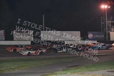 """20170902 599 - ARCA Midwest Tour """"Bill Meiller Memorial 101 presented by Assembly Products"""" at Dells Raceway Park - Wisconsin Dells, WI - 9/2/17"""