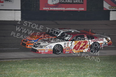 """20170902 600 - ARCA Midwest Tour """"Bill Meiller Memorial 101 presented by Assembly Products"""" at Dells Raceway Park - Wisconsin Dells, WI - 9/2/17"""