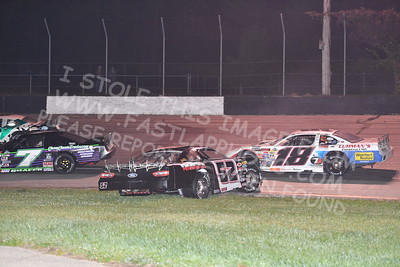 """20170902 586 - ARCA Midwest Tour """"Bill Meiller Memorial 101 presented by Assembly Products"""" at Dells Raceway Park - Wisconsin Dells, WI - 9/2/17"""