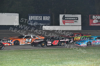 """20170902 594 - ARCA Midwest Tour """"Bill Meiller Memorial 101 presented by Assembly Products"""" at Dells Raceway Park - Wisconsin Dells, WI - 9/2/17"""