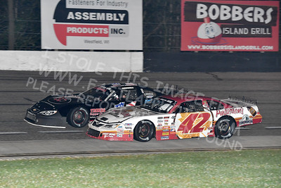 """20170902 589 - ARCA Midwest Tour """"Bill Meiller Memorial 101 presented by Assembly Products"""" at Dells Raceway Park - Wisconsin Dells, WI - 9/2/17"""