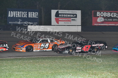 """20170902 592 - ARCA Midwest Tour """"Bill Meiller Memorial 101 presented by Assembly Products"""" at Dells Raceway Park - Wisconsin Dells, WI - 9/2/17"""