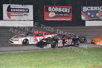 """20170902 487 - ARCA Midwest Tour """"Bill Meiller Memorial 101 presented by Assembly Products"""" at Dells Raceway Park - Wisconsin Dells, WI - 9/2/17"""