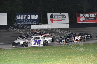 """20170902 481 - ARCA Midwest Tour """"Bill Meiller Memorial 101 presented by Assembly Products"""" at Dells Raceway Park - Wisconsin Dells, WI - 9/2/17"""