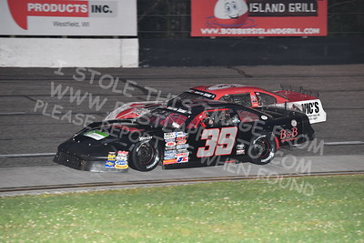 """20170902 491 - ARCA Midwest Tour """"Bill Meiller Memorial 101 presented by Assembly Products"""" at Dells Raceway Park - Wisconsin Dells, WI - 9/2/17"""