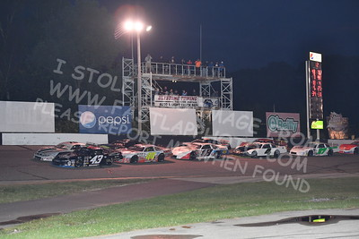 """20170902 494 - ARCA Midwest Tour """"Bill Meiller Memorial 101 presented by Assembly Products"""" at Dells Raceway Park - Wisconsin Dells, WI - 9/2/17"""