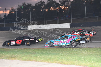 """20170902 489 - ARCA Midwest Tour """"Bill Meiller Memorial 101 presented by Assembly Products"""" at Dells Raceway Park - Wisconsin Dells, WI - 9/2/17"""
