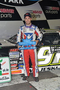 """20170902 889 - ARCA Midwest Tour """"Bill Meiller Memorial 101 presented by Assembly Products"""" at Dells Raceway Park - Wisconsin Dells, WI - 9/2/17"""