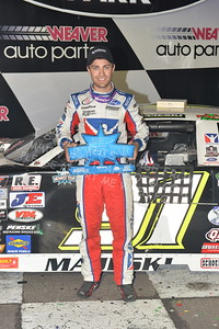 """20170902 922 - ARCA Midwest Tour """"Bill Meiller Memorial 101 presented by Assembly Products"""" at Dells Raceway Park - Wisconsin Dells, WI - 9/2/17"""