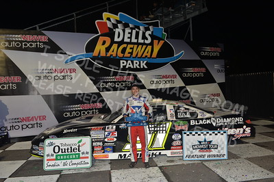 """20170902 915 - ARCA Midwest Tour """"Bill Meiller Memorial 101 presented by Assembly Products"""" at Dells Raceway Park - Wisconsin Dells, WI - 9/2/17"""
