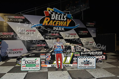 """20170902 921 - ARCA Midwest Tour """"Bill Meiller Memorial 101 presented by Assembly Products"""" at Dells Raceway Park - Wisconsin Dells, WI - 9/2/17"""