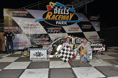"""20170902 930 - ARCA Midwest Tour """"Bill Meiller Memorial 101 presented by Assembly Products"""" at Dells Raceway Park - Wisconsin Dells, WI - 9/2/17"""