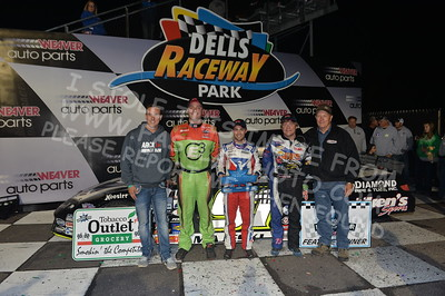 """20170902 902 - ARCA Midwest Tour """"Bill Meiller Memorial 101 presented by Assembly Products"""" at Dells Raceway Park - Wisconsin Dells, WI - 9/2/17"""