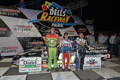 """20170902 900 - ARCA Midwest Tour """"Bill Meiller Memorial 101 presented by Assembly Products"""" at Dells Raceway Park - Wisconsin Dells, WI - 9/2/17"""