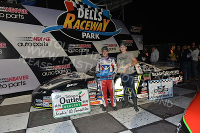 """20170902 892 - ARCA Midwest Tour """"Bill Meiller Memorial 101 presented by Assembly Products"""" at Dells Raceway Park - Wisconsin Dells, WI - 9/2/17"""