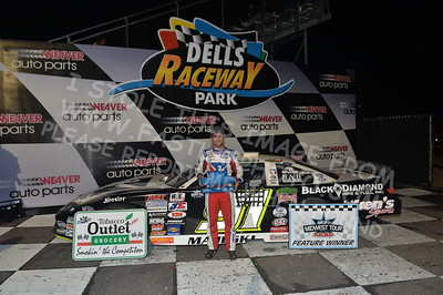 """20170902 911 - ARCA Midwest Tour """"Bill Meiller Memorial 101 presented by Assembly Products"""" at Dells Raceway Park - Wisconsin Dells, WI - 9/2/17"""