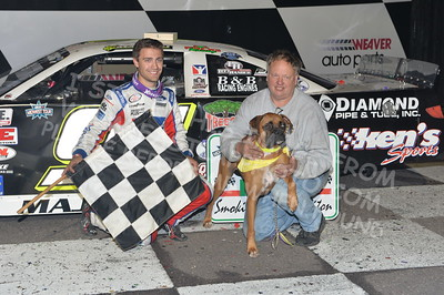 """20170902 934 - ARCA Midwest Tour """"Bill Meiller Memorial 101 presented by Assembly Products"""" at Dells Raceway Park - Wisconsin Dells, WI - 9/2/17"""