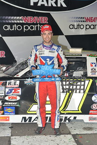 """20170902 920 - ARCA Midwest Tour """"Bill Meiller Memorial 101 presented by Assembly Products"""" at Dells Raceway Park - Wisconsin Dells, WI - 9/2/17"""