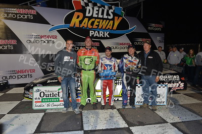 """20170902 901 - ARCA Midwest Tour """"Bill Meiller Memorial 101 presented by Assembly Products"""" at Dells Raceway Park - Wisconsin Dells, WI - 9/2/17"""