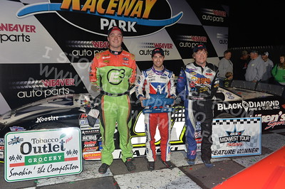 """20170902 897 - ARCA Midwest Tour """"Bill Meiller Memorial 101 presented by Assembly Products"""" at Dells Raceway Park - Wisconsin Dells, WI - 9/2/17"""