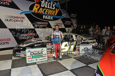 """20170902 887 - ARCA Midwest Tour """"Bill Meiller Memorial 101 presented by Assembly Products"""" at Dells Raceway Park - Wisconsin Dells, WI - 9/2/17"""
