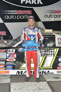 """20170902 918 - ARCA Midwest Tour """"Bill Meiller Memorial 101 presented by Assembly Products"""" at Dells Raceway Park - Wisconsin Dells, WI - 9/2/17"""
