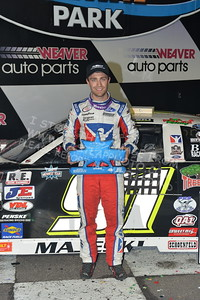 """20170902 908 - ARCA Midwest Tour """"Bill Meiller Memorial 101 presented by Assembly Products"""" at Dells Raceway Park - Wisconsin Dells, WI - 9/2/17"""