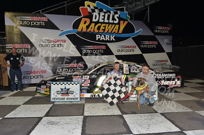 """20170902 931 - ARCA Midwest Tour """"Bill Meiller Memorial 101 presented by Assembly Products"""" at Dells Raceway Park - Wisconsin Dells, WI - 9/2/17"""