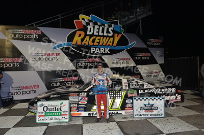 """20170902 917 - ARCA Midwest Tour """"Bill Meiller Memorial 101 presented by Assembly Products"""" at Dells Raceway Park - Wisconsin Dells, WI - 9/2/17"""