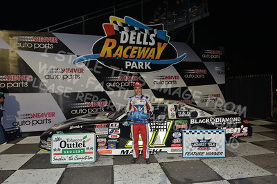 """20170902 919 - ARCA Midwest Tour """"Bill Meiller Memorial 101 presented by Assembly Products"""" at Dells Raceway Park - Wisconsin Dells, WI - 9/2/17"""