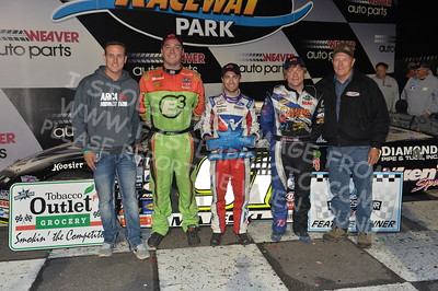 """20170902 903 - ARCA Midwest Tour """"Bill Meiller Memorial 101 presented by Assembly Products"""" at Dells Raceway Park - Wisconsin Dells, WI - 9/2/17"""