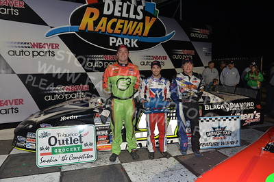 """20170902 895 - ARCA Midwest Tour """"Bill Meiller Memorial 101 presented by Assembly Products"""" at Dells Raceway Park - Wisconsin Dells, WI - 9/2/17"""