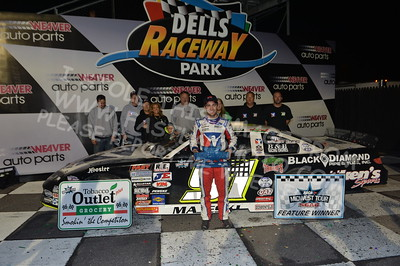 """20170902 904 - ARCA Midwest Tour """"Bill Meiller Memorial 101 presented by Assembly Products"""" at Dells Raceway Park - Wisconsin Dells, WI - 9/2/17"""