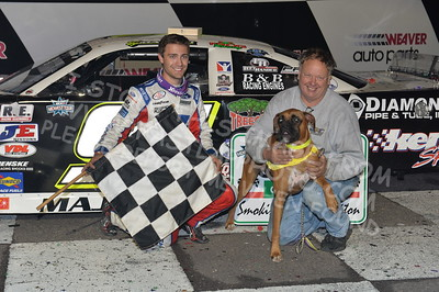 """20170902 927 - ARCA Midwest Tour """"Bill Meiller Memorial 101 presented by Assembly Products"""" at Dells Raceway Park - Wisconsin Dells, WI - 9/2/17"""
