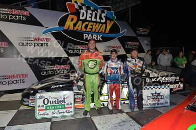 """20170902 896 - ARCA Midwest Tour """"Bill Meiller Memorial 101 presented by Assembly Products"""" at Dells Raceway Park - Wisconsin Dells, WI - 9/2/17"""