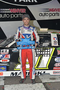 """20170902 912 - ARCA Midwest Tour """"Bill Meiller Memorial 101 presented by Assembly Products"""" at Dells Raceway Park - Wisconsin Dells, WI - 9/2/17"""