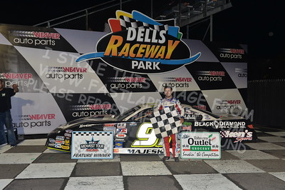 """20170902 924 - ARCA Midwest Tour """"Bill Meiller Memorial 101 presented by Assembly Products"""" at Dells Raceway Park - Wisconsin Dells, WI - 9/2/17"""