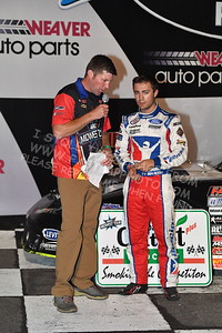 """20170902 674 - ARCA Midwest Tour """"Bill Meiller Memorial 101 presented by Assembly Products"""" at Dells Raceway Park - Wisconsin Dells, WI - 9/2/17"""