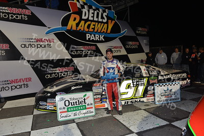"""20170902 891 - ARCA Midwest Tour """"Bill Meiller Memorial 101 presented by Assembly Products"""" at Dells Raceway Park - Wisconsin Dells, WI - 9/2/17"""