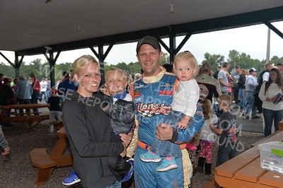 "20170902 834 - ARCA Midwest Tour ""Bill Meiller Memorial 101 presented by Assembly Products"" at Dells Raceway Park - Wisconsin Dells, WI - 9/2/17"