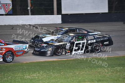 """20170902 459 - ARCA Midwest Tour """"Bill Meiller Memorial 101 presented by Assembly Products"""" at Dells Raceway Park - Wisconsin Dells, WI - 9/2/17"""