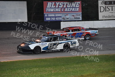 """20170902 461 - ARCA Midwest Tour """"Bill Meiller Memorial 101 presented by Assembly Products"""" at Dells Raceway Park - Wisconsin Dells, WI - 9/2/17"""