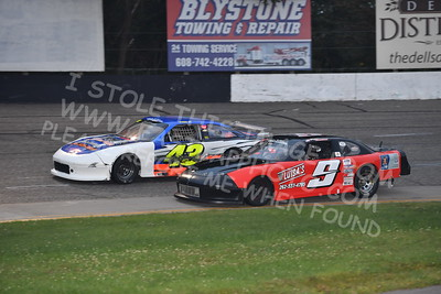 """20170902 445 - ARCA Midwest Tour """"Bill Meiller Memorial 101 presented by Assembly Products"""" at Dells Raceway Park - Wisconsin Dells, WI - 9/2/17"""