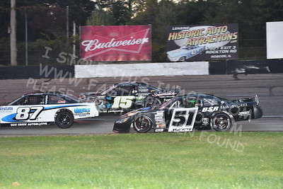 """20170902 457 - ARCA Midwest Tour """"Bill Meiller Memorial 101 presented by Assembly Products"""" at Dells Raceway Park - Wisconsin Dells, WI - 9/2/17"""