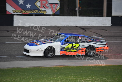 """20170902 454 - ARCA Midwest Tour """"Bill Meiller Memorial 101 presented by Assembly Products"""" at Dells Raceway Park - Wisconsin Dells, WI - 9/2/17"""