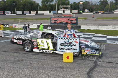 """20170902 839 - ARCA Midwest Tour """"Bill Meiller Memorial 101 presented by Assembly Products"""" at Dells Raceway Park - Wisconsin Dells, WI - 9/2/17"""